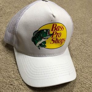 Other - White Bass Pro Hat